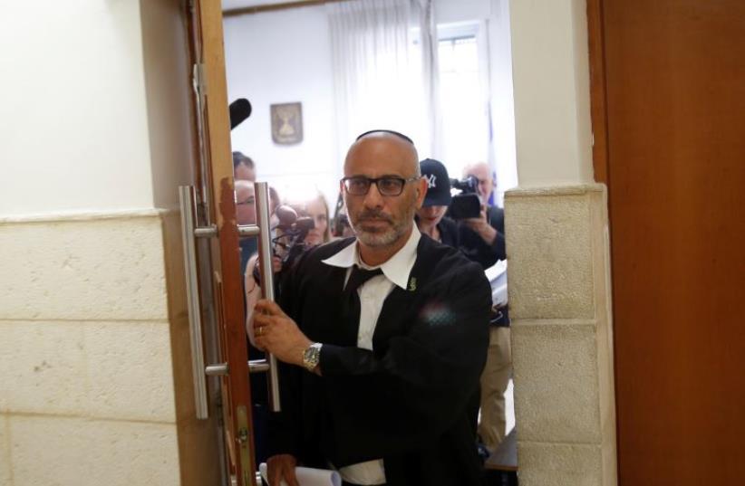 Leifer's lawyer, Yehuda Fried (photo credit: REUTERS/Ronen Zvulun)