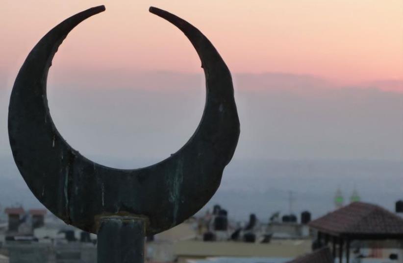 Another Ramadan evening begins in Kafr Kasim (photo credit: ILANIT HARAMATI)