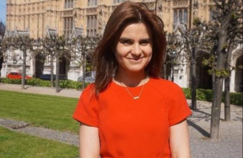 British MP Jo Cox  (photo credit: TWITTER)