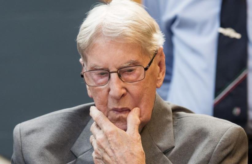 Ex-Auschwitz guard Reinhold Hanning  (photo credit: REUTERS)