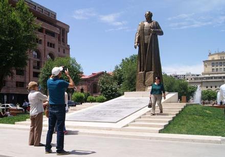Garegin Nzhdeh monument, Yerevan