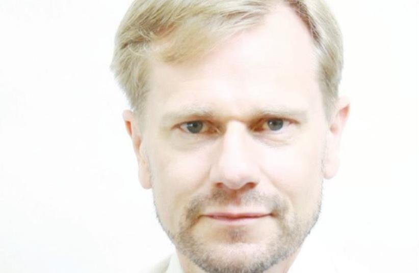 Swedesh special envoy on Anti-semitism , Joachim Bergström (photo credit: Courtesy)