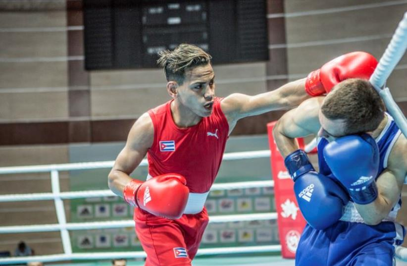 Boxing - 2016 World Olympic Qualification Event (photo credit: REUTERS)