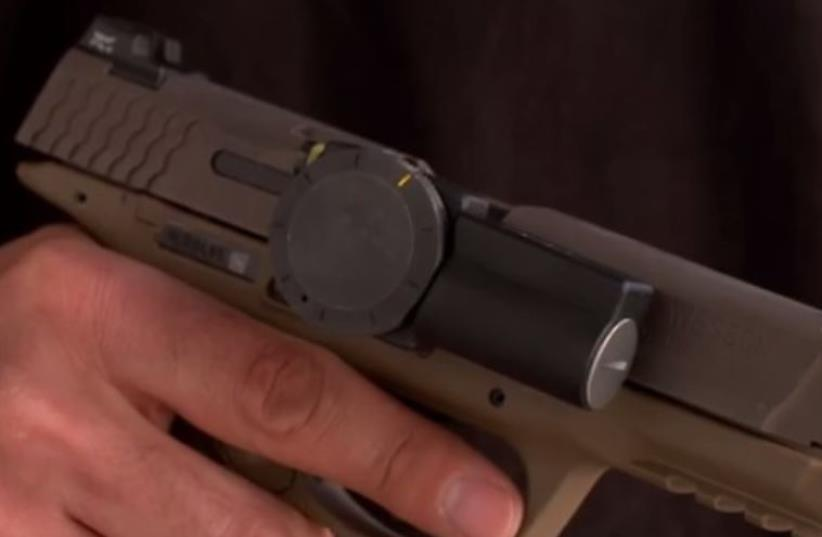 Zore smart gun lock (photo credit: screenshot)