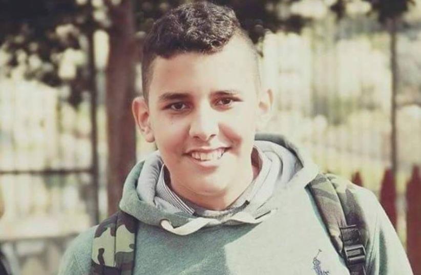Mahmoud Badran, the Palestinian killed by the IDF (photo credit: PALESTINIAN SOCIAL MEDIA)