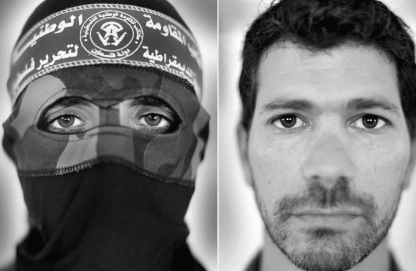 Abu Khaled and Gilad from 'The Enemy.' (photo credit: KARIM BEN KHELIFA)