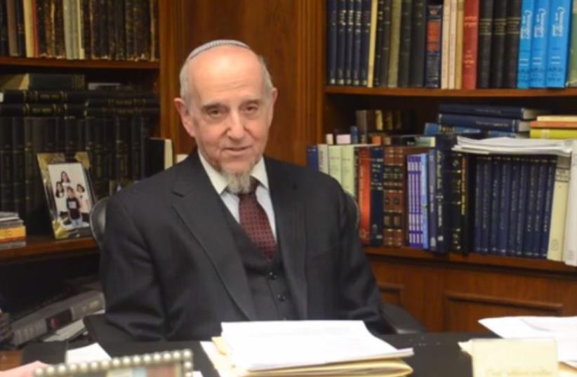 Rabbi Haskel Lookstein (photo credit: screenshot)