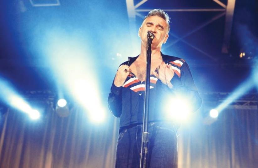 The iconic king of moperock, Morrissey (photo credit: ORIT PNINI)