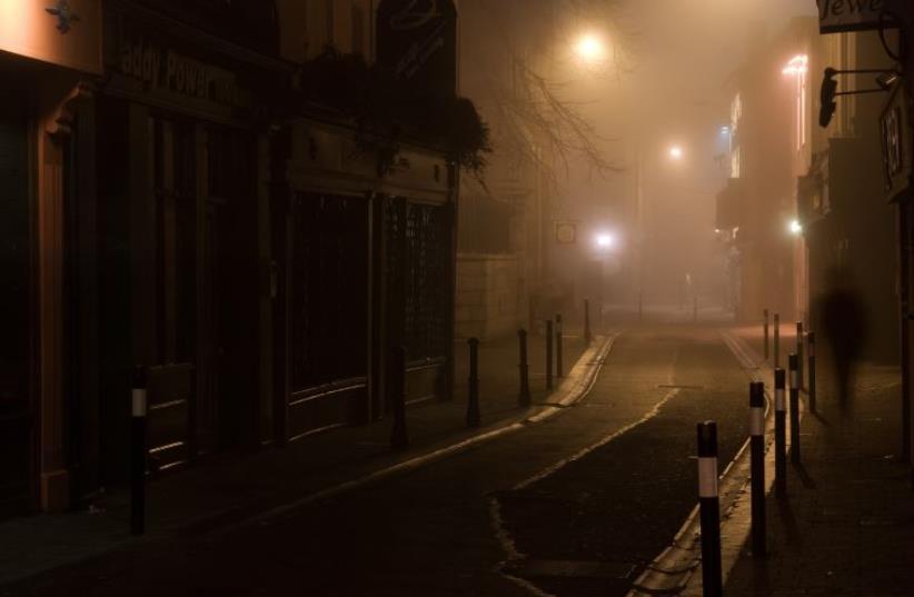 City street at night (illustrative)  (photo credit: INGIMAGE)