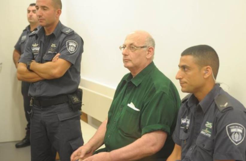 Shimon Cooper in court (photo credit: AVSHALOM SASSONI)