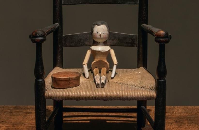 'From her wooden sleep' exhibition (photo credit: ROBERT KEZIERE)