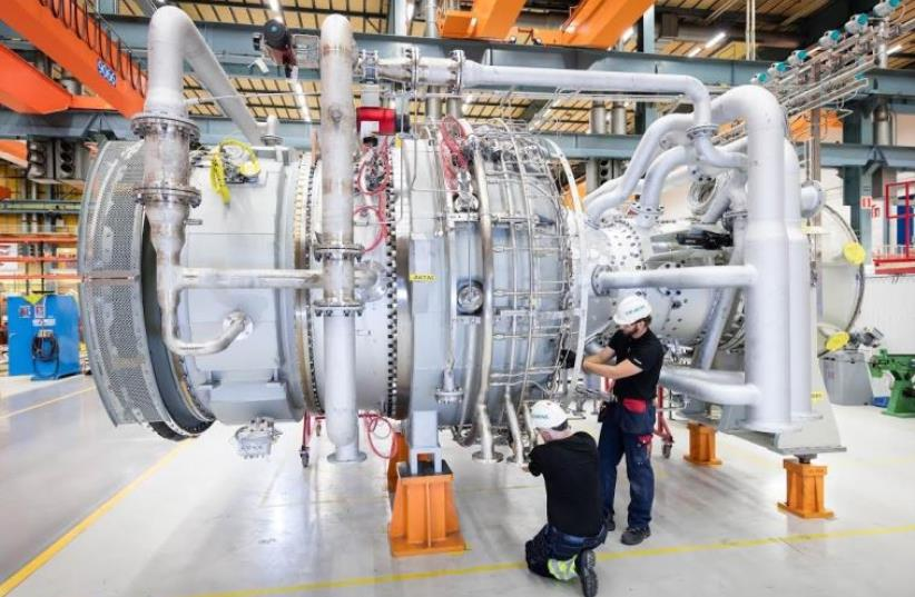Siemens SGT-800 gas turbine (photo credit: Courtesy)