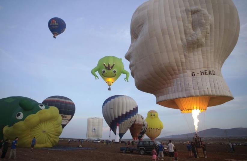 The International Hot Air Balloon Festival (photo credit: BAZ RATNER)