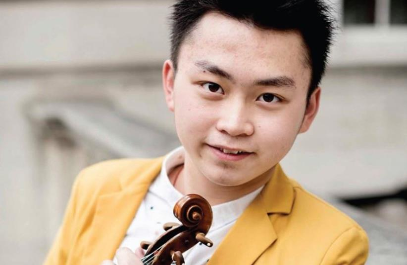 Chinese violinist Ziyu He (photo credit: Courtesy)