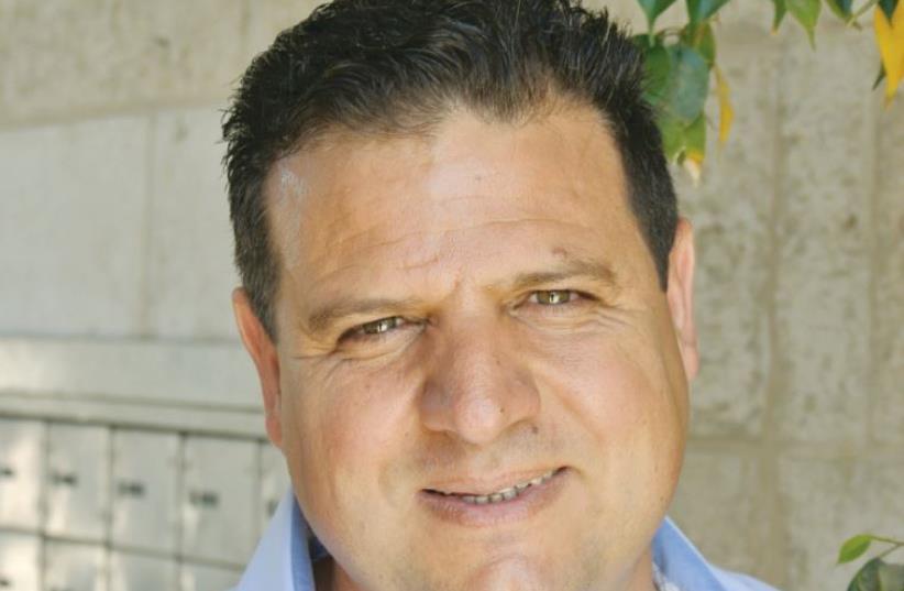Joint List leader Ayman Odeh (photo credit: SETH J. FRANTZMAN)