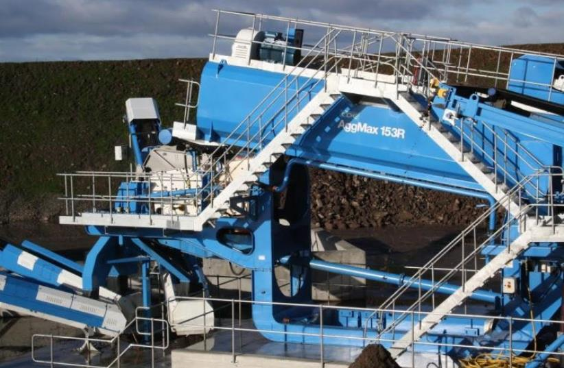 A CDE Global deomlition recycling facility that could be built in Israel (photo credit: CDE GLOBAL LIMITED)