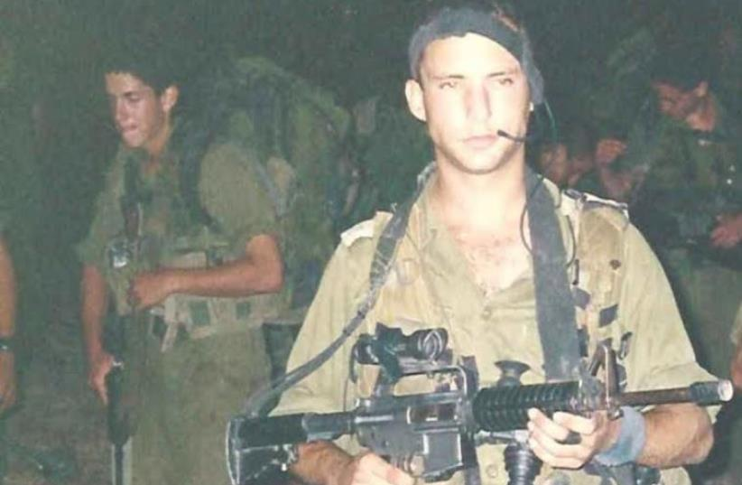 Naftali Bennett called up for reserve duty in the Second Lebanon War in 2006 (photo credit: Courtesy)