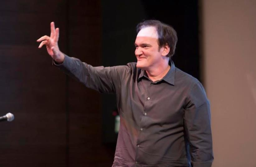 Quentin Tarantino at the 33rd Jerusalem Film Festival, July 8, 2016 (photo credit: Courtesy)