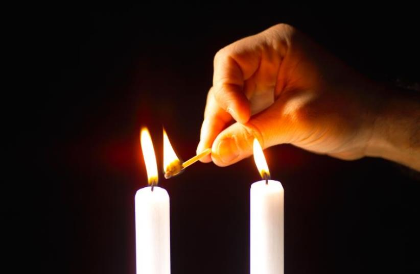 Shabbat candles (photo credit: ING IMAGE/ASAP)