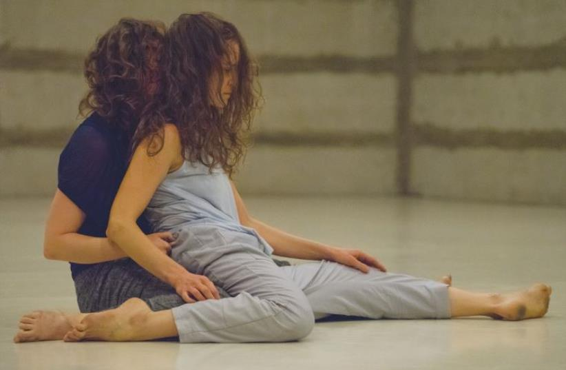AYALA FRENKEL (left) and Noa Shavit perform in the new duet '2 Her.' (photo credit: Courtesy)