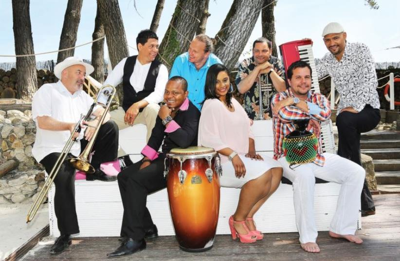 The Cabo Cuba Jazz band (photo credit: SIMONE STARON)