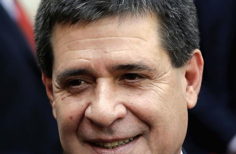 Horacio Cartes (photo credit: ANDREA COMAS/REUTERS)