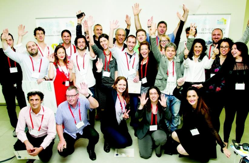Groupe de participants au programme Gvahim (photo credit: DR)