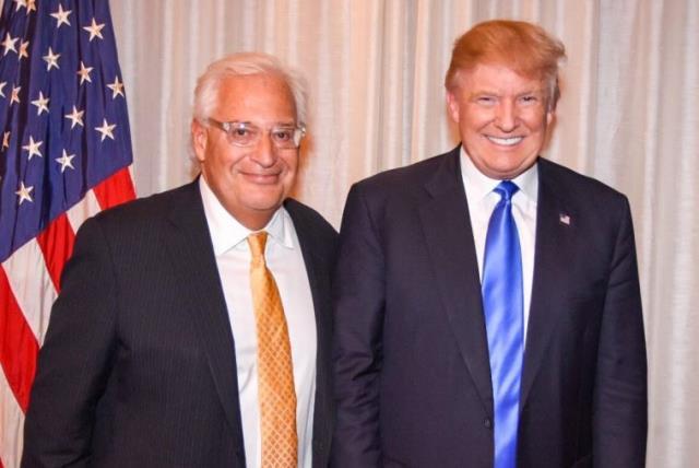 David Friedman with Donald Trump in Manhattan (photo credit: Courtesy)