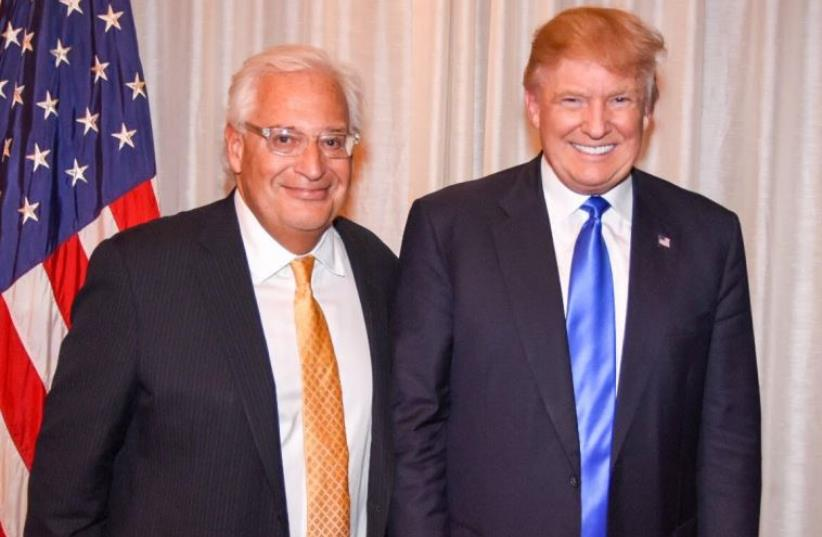 David Friedman with Donald Trump in Manhattan (photo credit: Courtesy)