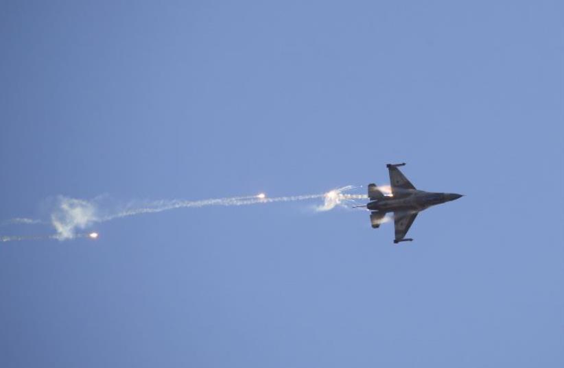 Israeli f-16 fighter jet (photo credit: REUTERS)