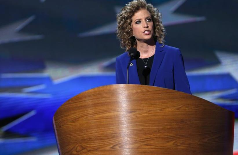 Democratic Party Chairwoman Debbie Wasserman-Shultz (photo credit: REUTERS)