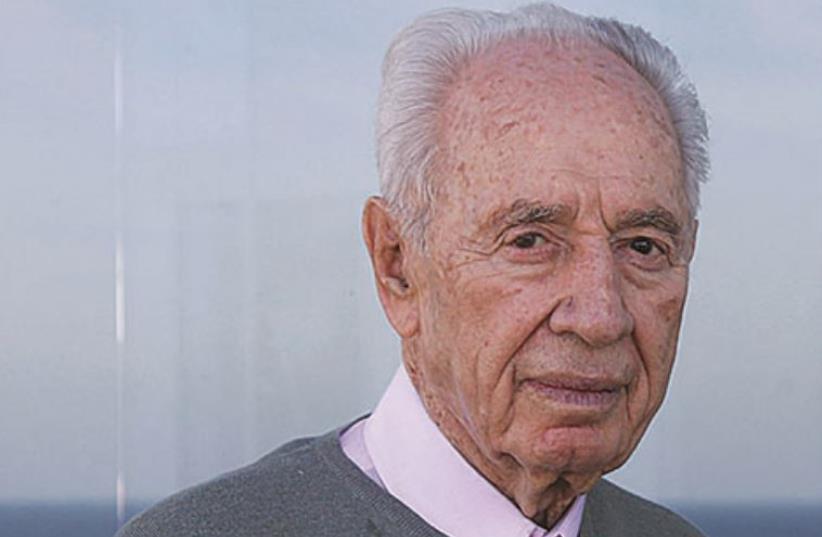 Shimon Peres (photo credit: Courtesy)
