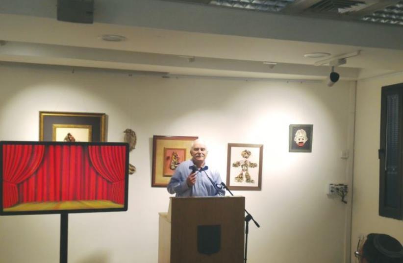 FORMER MK Yair Shamir, son of the late prime minister, speaks at the Lehi Museum in Tel Aviv yesterday (photo credit: Courtesy)
