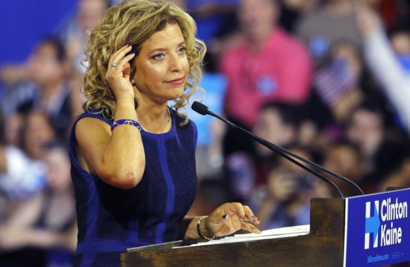 Debbie Wasserman Schultz of Florida (photo credit: REUTERS)