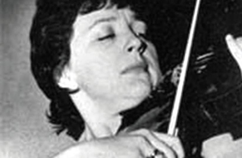 Violinist Rosa Fain (photo credit: PR)