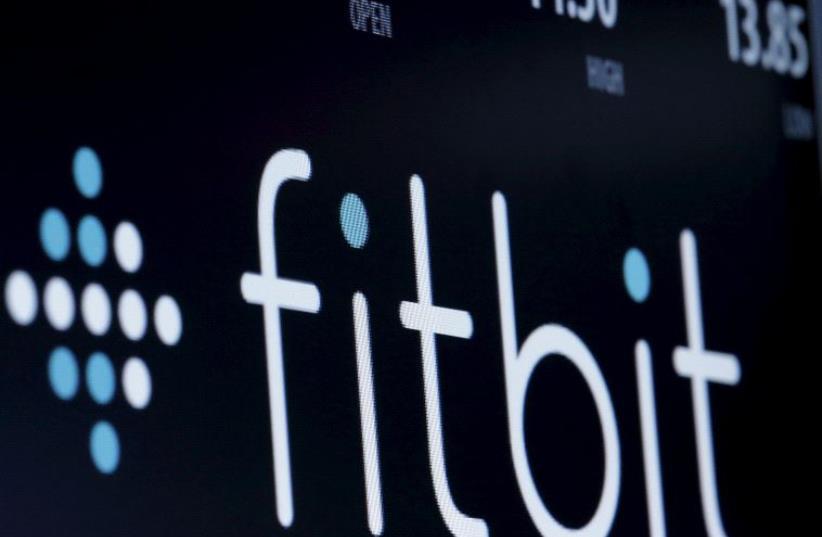 Fitbit (photo credit: REUTERS)