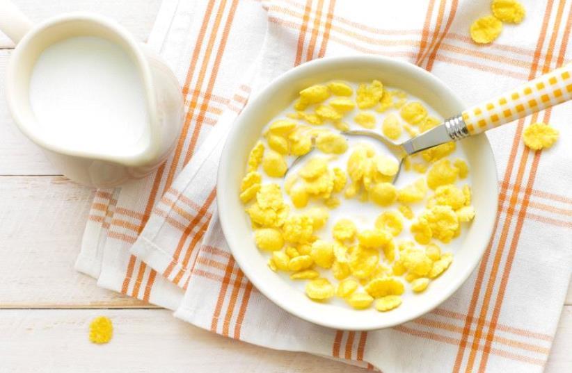 Cornflakes (Illustrative) (photo credit: INGIMAGE)