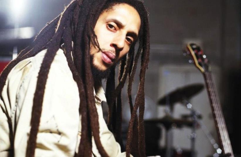 JULIAN MARLEY. The reggae musician performs at the Barby Club in Tel Aviv. (photo credit: Courtesy)