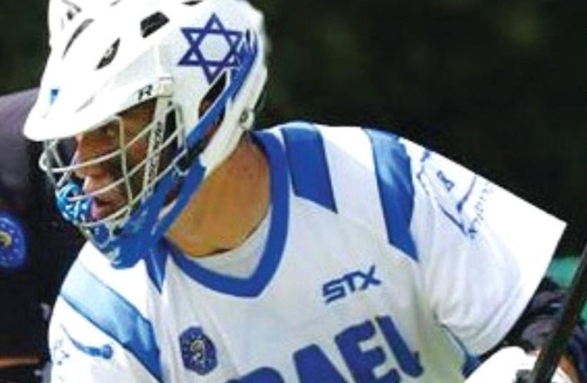THE ISRAEL national lacrosse team. (photo credit: ISRAEL LACROSSE)