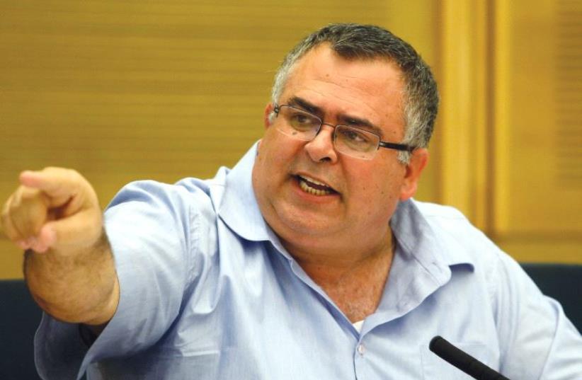 DAVID BITAN seen at the Knesset last year (photo credit: MARC ISRAEL SELLEM/THE JERUSALEM POST)
