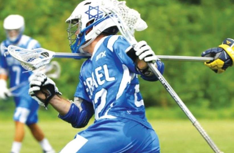 Israel will face England in the final of the 2016 ELF European Lacrosse Championships on Saturday after beating Wales 10-3 yesterday. (photo credit: ISRAEL LACROSSE)