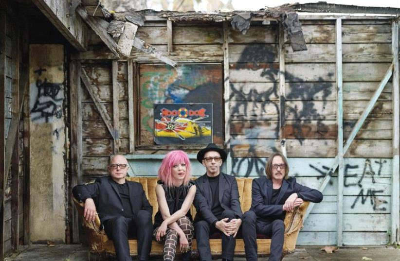 'THE MUSIC industry that was such big business when we started out doesn't really exist anymore, at least for the kind of music we do. We've tried to weather the changes and adapt,' says Garbage multi-instrumentalist Steve Marker (far left), seen here with the rest of the band. ( (photo credit: Courtesy)