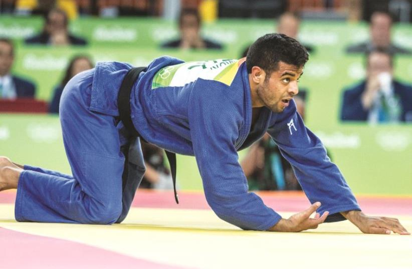 Israeli judoka Sagi Muki (photo credit: ASAF KLIGER)