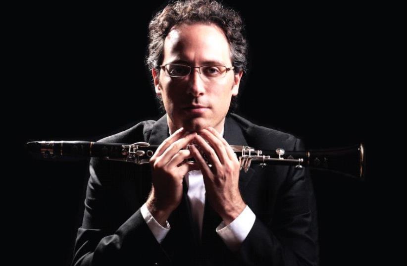 Israeli clarinetist Chen Halevi (photo credit: VINCENT BOUCHARD)