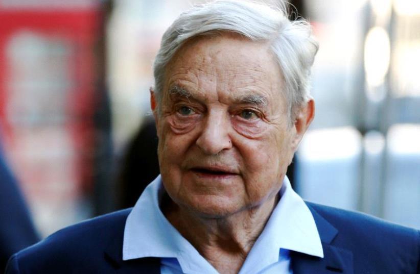 George Soros  (photo credit: REUTERS)