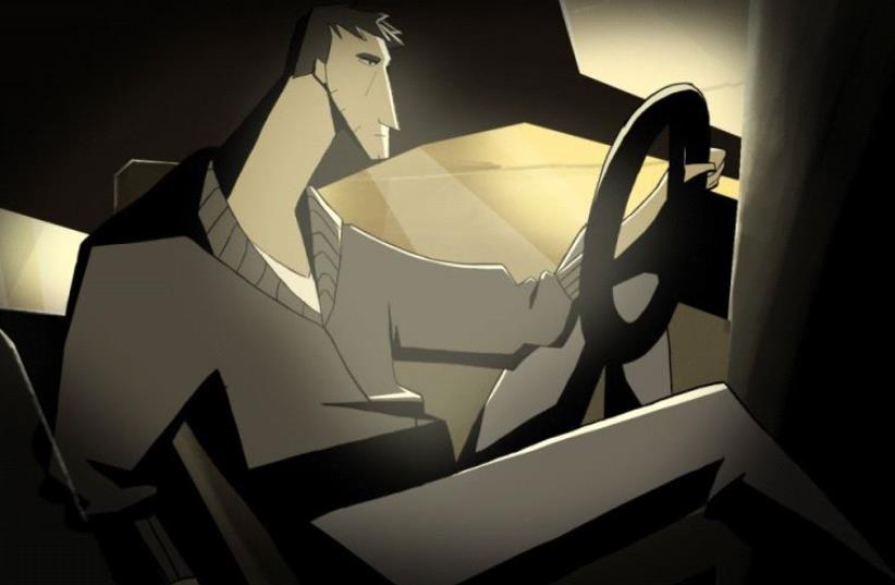 """Still from the animation film """"Scapegoat"""" by Gal Haklay and Shulamit Tager (photo credit: BEZALEL ACADEMY OF ARTS AND DESIGN)"""