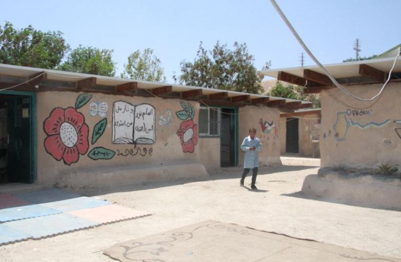 The al-Khan al-Ahmar School (photo credit: TOVAH LAZAROFF)