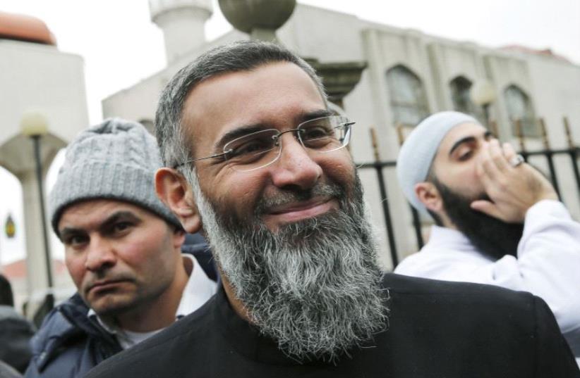UK radical Islamist Ajem Choudary  (photo credit: REUTERS)