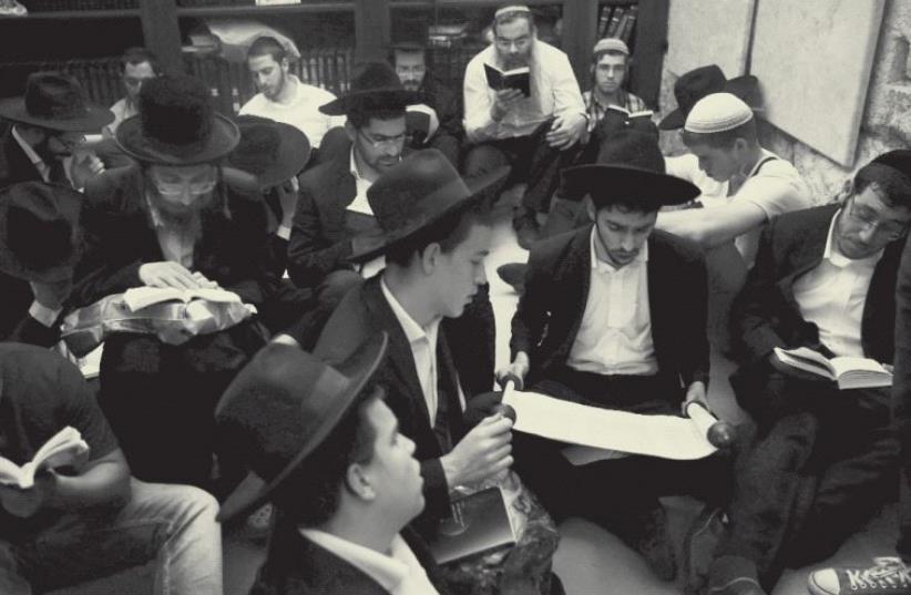Haredi Jews (photo credit: REUTERS)