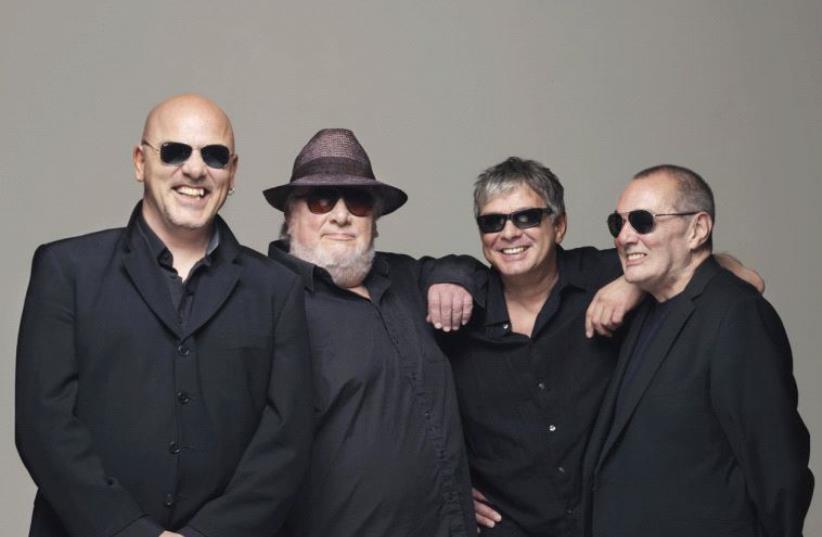 ICONIC BRITISH rock band The Stranglers (photo credit: RUBY STUDIO))